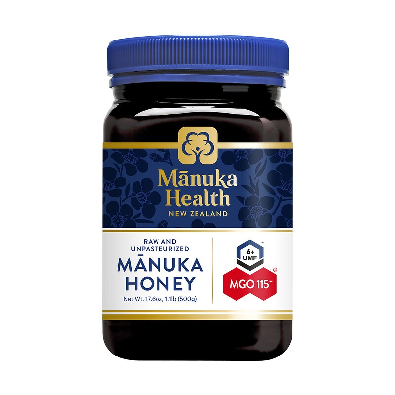 Manuka Health, Manuka Honey, MGO 115+, 1.1 lb (500 g)