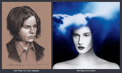 Jack White. Singer-Songwriter and Producer. Boarding House Reach. Third Man Records. by Travis Simpkins