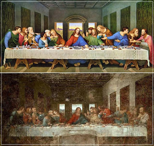 A Última Ceia, de Leonardo da Vinci.