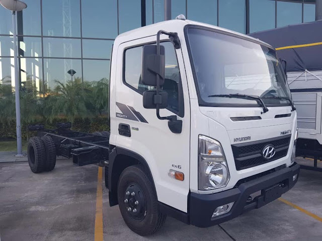 giá xe tải hyundai ex6 tại bắc ninh