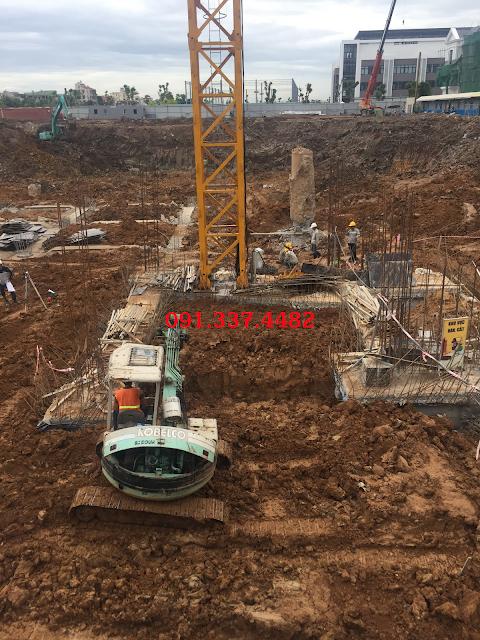 Tiến độ xây dựng dự án chung cư Hope Residences Phúc Đồng
