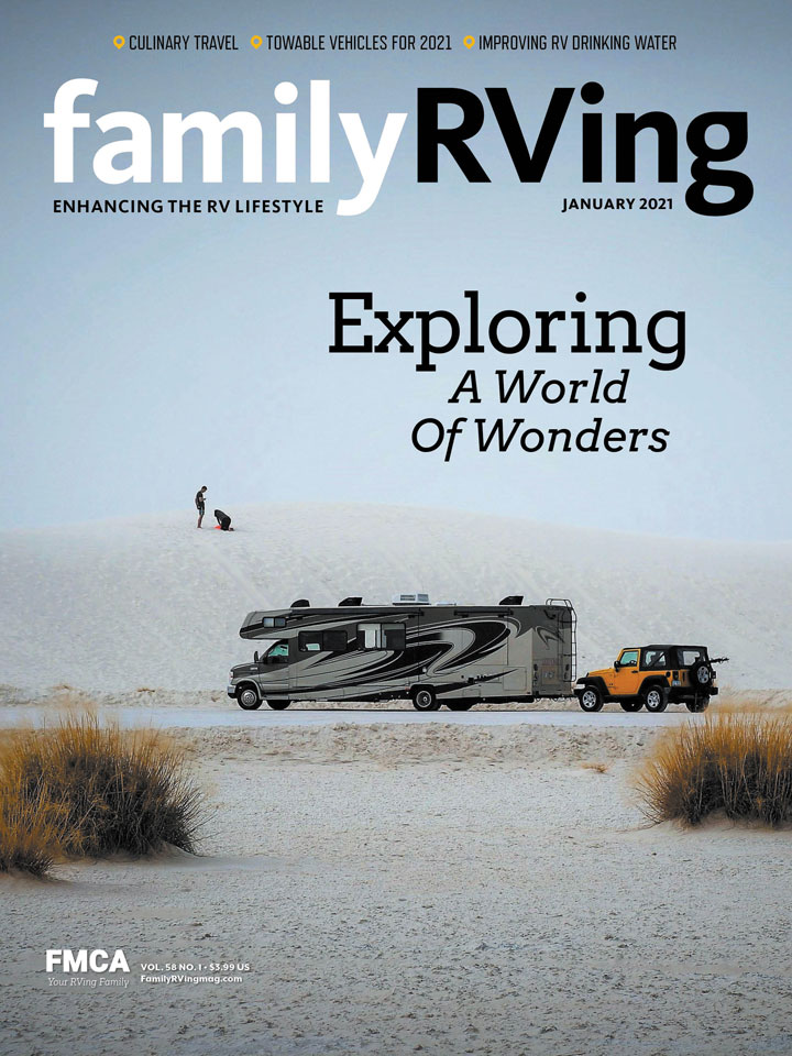 Featured Photographer for Family RV'ing Magazine