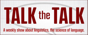 Logo for Talk the Talk podcast