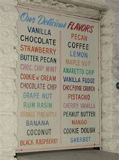Christianity is like the menu of an Ice Cream Parlour