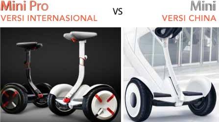 xe điện ninebot mini vs min pro cấu hình