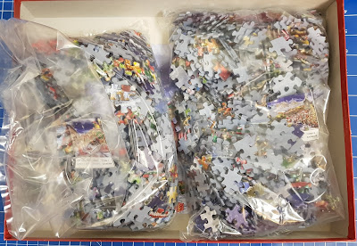 Jumbo Puzzles Christmas Special Edition 2 x 1000 pieces in one box