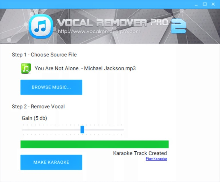 Vocal Remover Pro 2.0 Full Version Terbaru