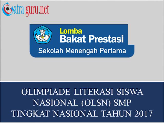 Lomba Olimpiade Literasi Nasional Tahun 2017