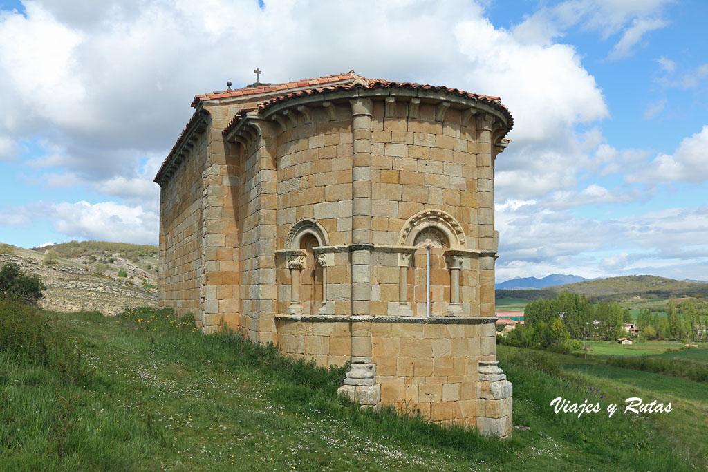 Ábside de la Ermita de Santa Eulalia, Barrio de Santa María