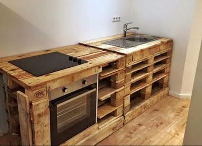 Desain palet kayu