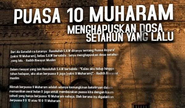 Keutamaan Puasa 10 Muharram