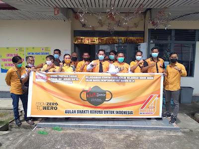 Partai Hanura Sanggau bakti sosial donor darah di PMI