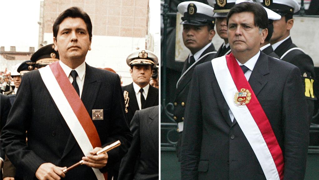 Alan García en sus dos momentos de asunción al mando de Perú / EFE ARCHIVOS