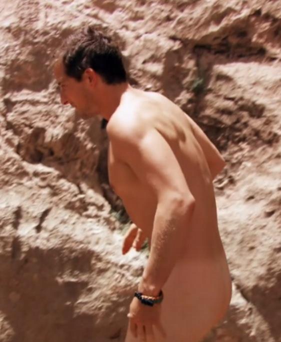 naked vs Bear man grylls wild