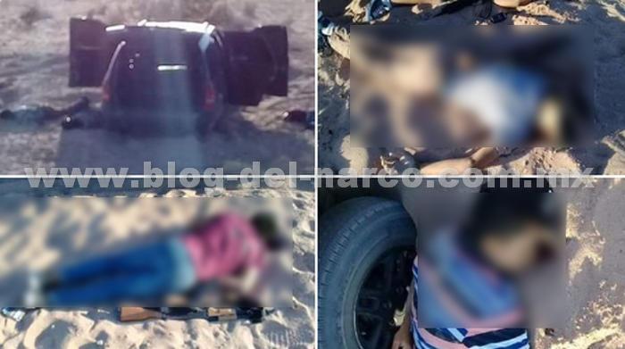 Vídeo y Fotografías, Policías Abaten a 3 niños Sicarios en San Luis Río Colorado tras haber ejecutado a 1 persona