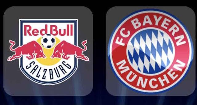 مشاهدة مباراة بايرن ميونخ وريد بول بث مباشر اليوم