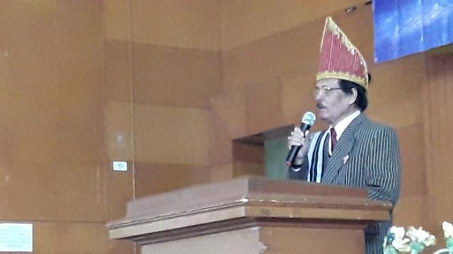 L. Silalahi (Op.David) Ketua Dewan Penasehat Pinompar Silalahi Sondi Raja Boru Bere Ibebere Se-Bandung Raya Periode 2019- 2022