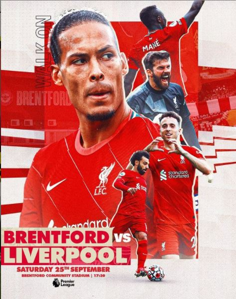Link Streaming Nonton Brentford vs Liverpool Liga Inggris 2021Tayang Disiarkan Dimana Stream SCTV Online Mola TV Bein Sport