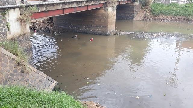 Heboh di Medsos Sungai Citarik Tercemar Limbah Industri, Ini Fakta Hasil Penelusuran Satgas Sektor 21