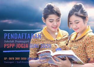 pendaftaran sekolah pramugari juni 2020 pspp yogyakarta