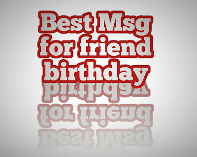 best msg for friend birthday bahasa indonesia