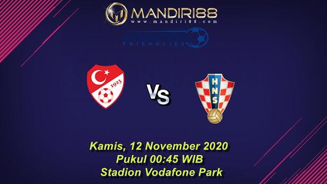 Prediksi Turki Vs Kroasia, Kamis 12 November 2020 Pukul 00.45 WIB @ Mola TV