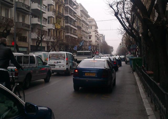 Στο στόχαστρο της Τροχαίας τα παράνομα σταθμευμένα ταξί