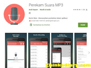 Aplikasi perekam suara Android terbaik untuk MP3