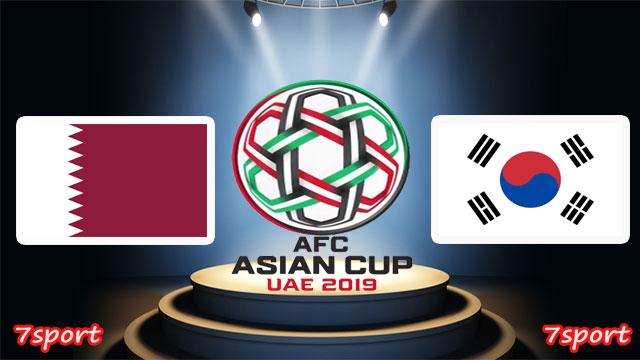 موعدنا مع  مباراة قطر وكوريا الجنوبية  بتاريخ  25/01/2019  كاس اسيا