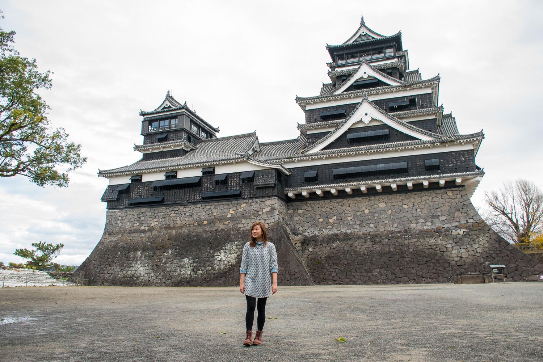 Kumamoto castle Japan