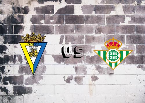 Cádiz vs Real Betis  Resumen