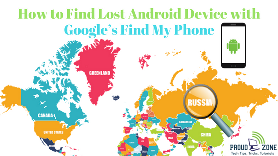 How to Find Lost Android Device