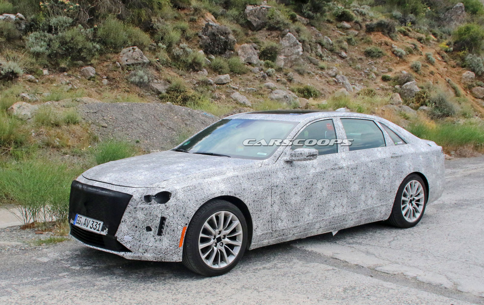 Facelifted 2019 Cadillac CT6 Scooped In Europe, Could Come ...