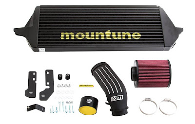 Focus ST gets an new intercooler and air filter amongst other parts