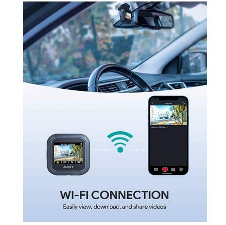 AUKEY DRS1 4K Dash Cam WiFi Car Camera