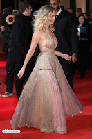 Jennifer Lawrence in a golde glittering gown at Red Sparrow Premiere in London ~  Exclusive Galleries 012.jpg
