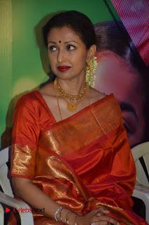 Actress Gauthami Pictures in Saree at Namadhu Movie Press Meet  0013