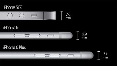 Sự khác biệt của iPhone 6 và 6 Plus
