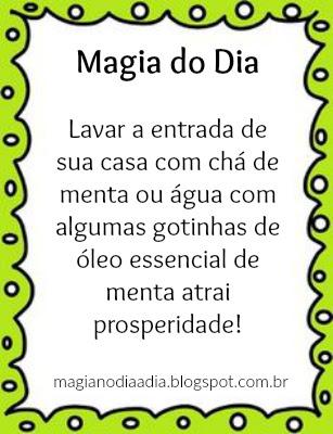 magia no dia a dia para prosperidade
