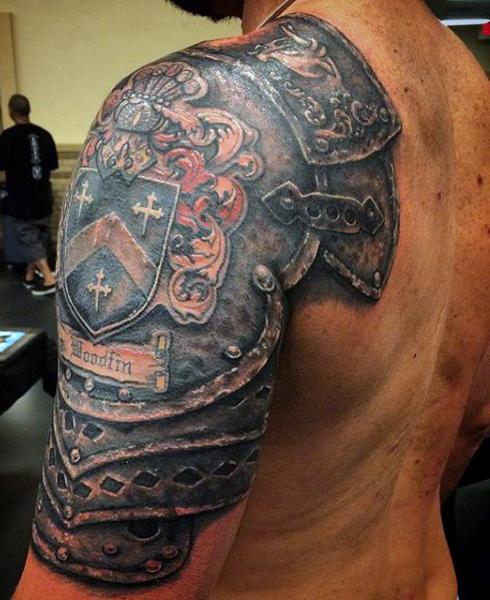 Tatuajes Para Chicos Cuales Son Las 9 Zonas Mas Atractivas Para - Tatuajes-de-hombro-y-brazo
