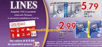 Logo Lines ti regala Bennet Card da 5 euro
