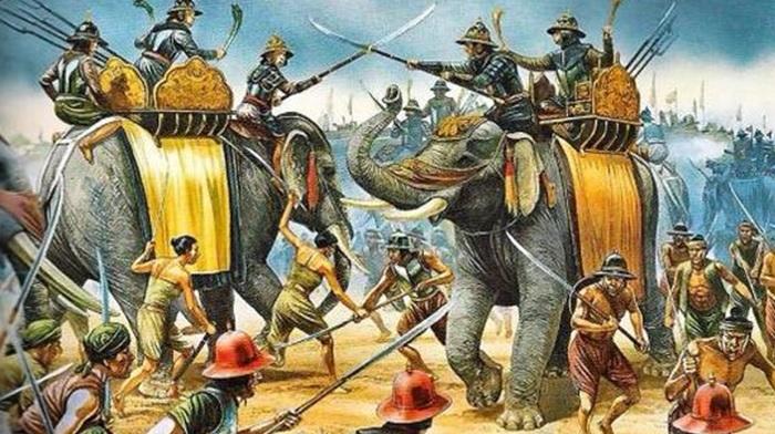 L'elefante e il soldato - Anonimo