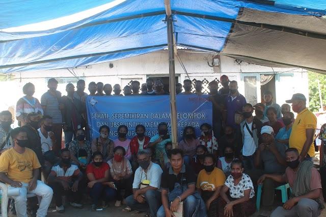 Kader Petani Desa  Kunjungan silang ke Desa Wonda