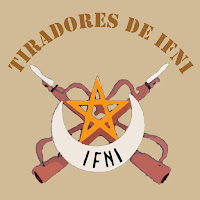 Insignia del Grupo de Tiradores de Ifni nº 1