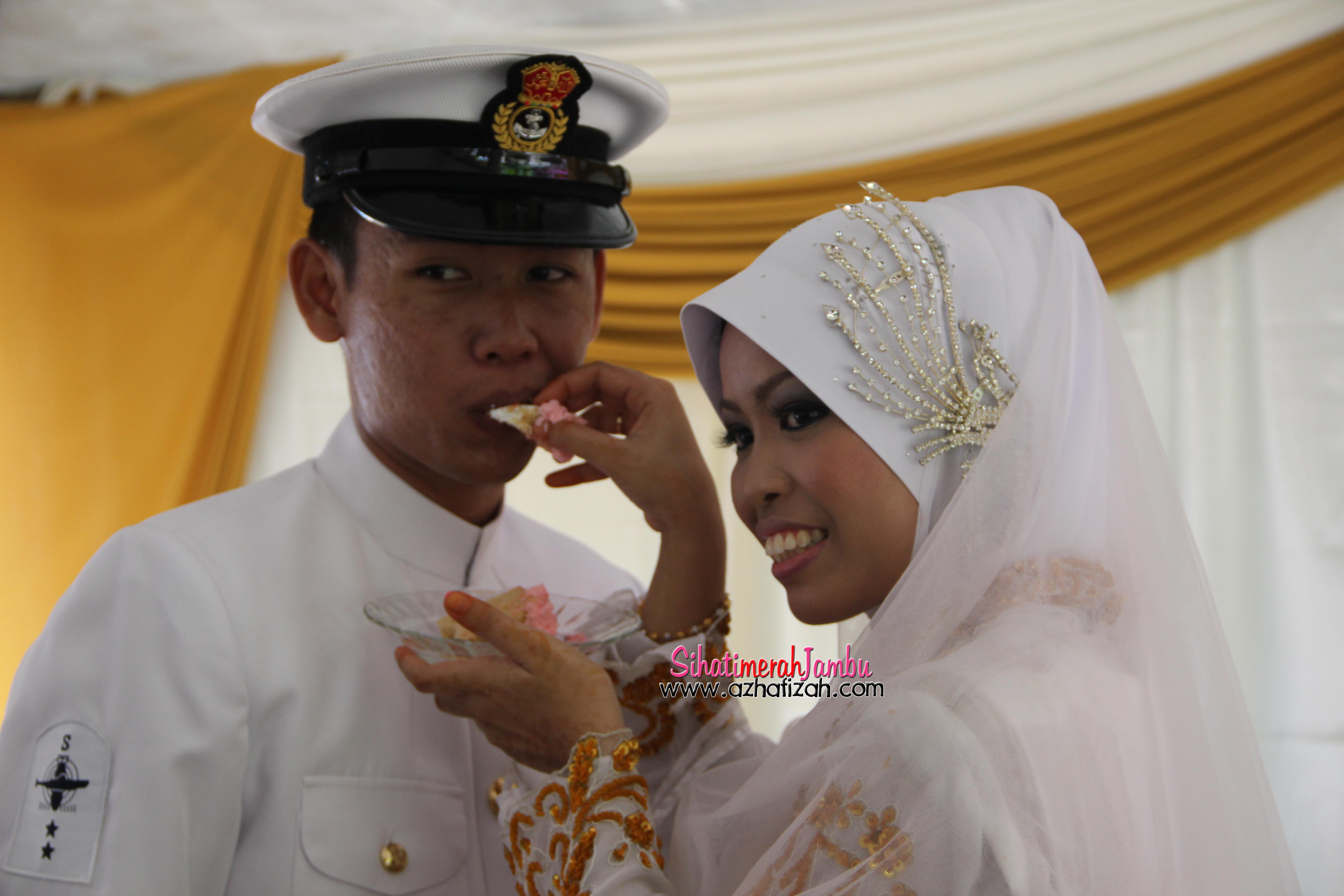 Wedding CikPuan jijah dan Mr Navy