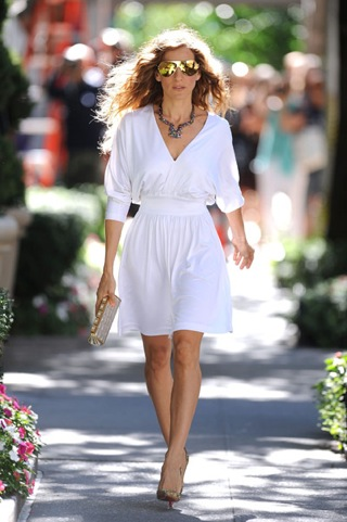 Carrie Bradshaw Month 2: CARRIES BACK! | Charity Shop Chic