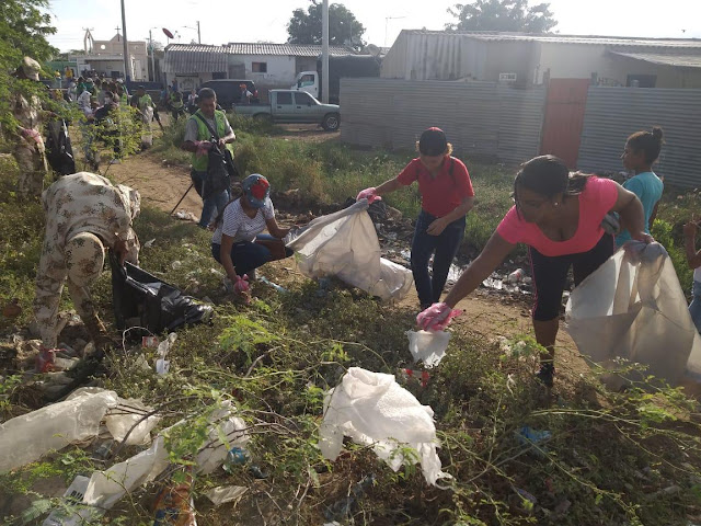 Jornadas de concientización, protección del medio ambiente y de limpieza se realizan en Riohacha