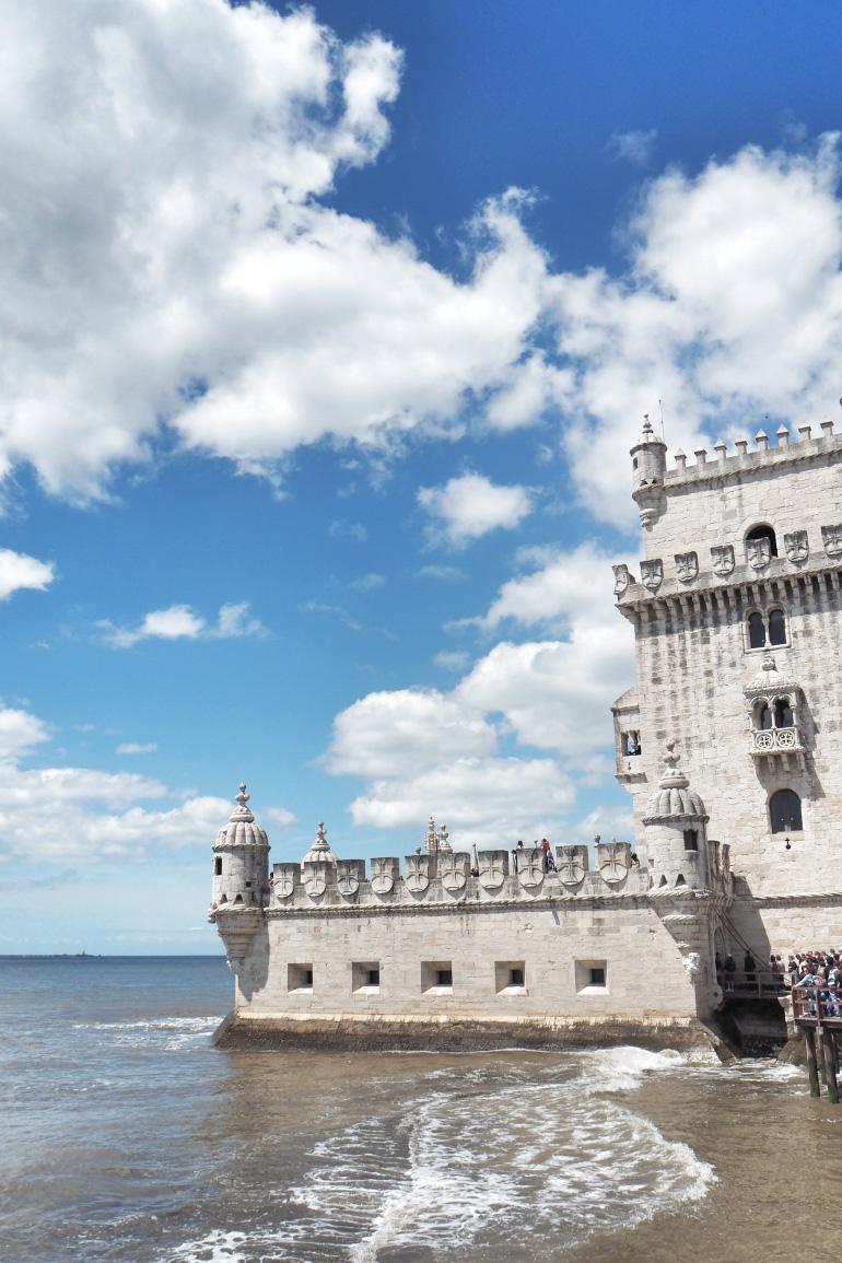 Tour de Belém dans la ville de Lisbonne