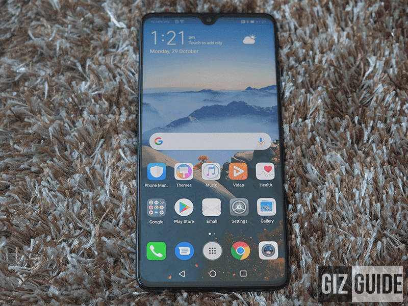 Huawei Mate 20, the most affordable 7nm phone as of writing