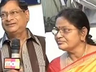 Comedian M. S. Narayana Family Wife Parents children's Marriage Photos